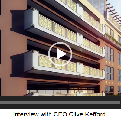 Interview with CEO Clive Kefford