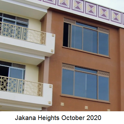 Jakana Heights October 2020